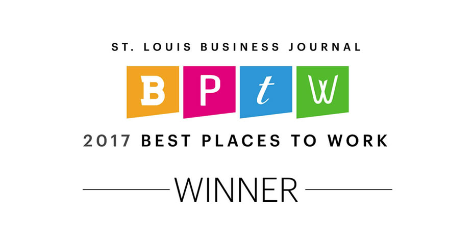 St. Louis Buisness Journal Best Places To W0rk 2017