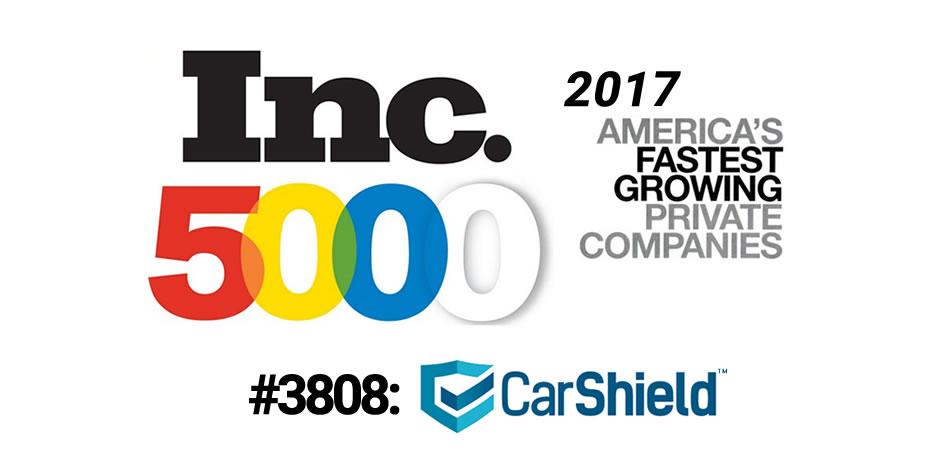 Inc5000 2017 Rank #3808